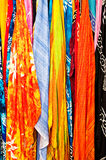 ζωηρόχρωμα μαντίλι στοκ φωτογραφία