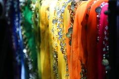 Ζωηρόχρωμα μαντίλι για το χορό κοιλιών Στοκ εικόνα με δικαίωμα ελεύθερης χρήσης