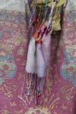 ζωηρόχρωμα μαντίλι Στοκ εικόνες με δικαίωμα ελεύθερης χρήσης