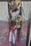 ζωηρόχρωμα μαντίλι Στοκ εικόνα με δικαίωμα ελεύθερης χρήσης