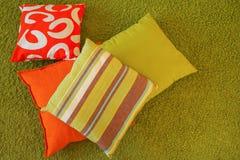 ζωηρόχρωμα μαξιλάρια στοκ φωτογραφία με δικαίωμα ελεύθερης χρήσης