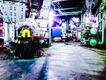 Ζωηρόχρωμα μηχανήματα 2 βιομηχανίας Στοκ Εικόνες