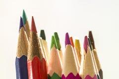 ζωηρόχρωμα μολύβια Στοκ φωτογραφία με δικαίωμα ελεύθερης χρήσης
