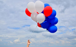 Ζωηρόχρωμα μπαλόνια. Στοκ Εικόνα