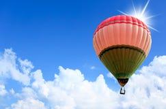 Ζωηρόχρωμα μπαλόνια ζεστού αέρα Στοκ εικόνες με δικαίωμα ελεύθερης χρήσης
