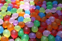 Ζωηρόχρωμα μπαλόνια ύδατος Στοκ Εικόνες