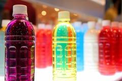 Ζωηρόχρωμα μπουκάλια Στοκ Εικόνα