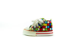 ζωηρόχρωμα παπούτσια Στοκ φωτογραφία με δικαίωμα ελεύθερης χρήσης
