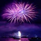 Ζωηρόχρωμα πυροτεχνήματα Στοκ εικόνα με δικαίωμα ελεύθερης χρήσης