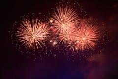 Ζωηρόχρωμα πυροτεχνήματα Στοκ Εικόνες