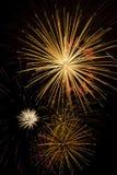 ζωηρόχρωμα πυροτεχνήματα &e Στοκ Φωτογραφίες