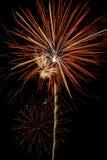 ζωηρόχρωμα πυροτεχνήματα &e Στοκ εικόνα με δικαίωμα ελεύθερης χρήσης