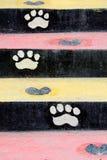 ζωηρόχρωμα σκαλοπάτια Στοκ Φωτογραφία