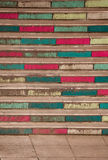 Ζωηρόχρωμα σκαλοπάτια Στοκ Εικόνες
