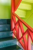 ζωηρόχρωμα σκαλοπάτια Στοκ Φωτογραφίες