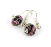 ζωηρόχρωμα σκουλαρίκια &pi Στοκ Εικόνα