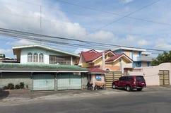 ζωηρόχρωμα σπίτια στοκ φωτογραφίες