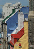 ζωηρόχρωμα σπίτια Στοκ εικόνα με δικαίωμα ελεύθερης χρήσης