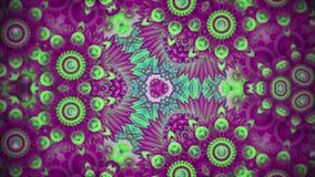 Ζωηρόχρωμα σχέδια ακολουθίας καλειδοσκόπιων Αφηρημένο πολύχρωμο υπόβαθρο γραφικής παράστασης κινήσεων Όμορφη φωτεινή διακόσμηση απεικόνιση αποθεμάτων