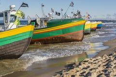 Ζωηρόχρωμα τόξα των σκαφών Στοκ εικόνα με δικαίωμα ελεύθερης χρήσης