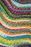 Ζωηρόχρωμα υφαμένα taxtures & υπόβαθρο κουβερτών μαλλιού σίζαλ στοκ φωτογραφία με δικαίωμα ελεύθερης χρήσης