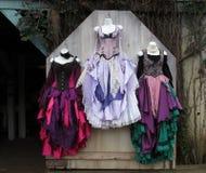 ζωηρόχρωμα φορέματα Στοκ φωτογραφία με δικαίωμα ελεύθερης χρήσης