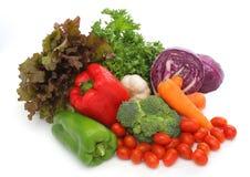 ζωηρόχρωμα φρέσκα λαχανικά ομάδας Στοκ φωτογραφία με δικαίωμα ελεύθερης χρήσης