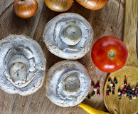 Ζωηρόχρωμα φρέσκα οργανικά λαχανικά Στοκ Εικόνες