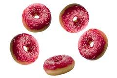 Ζωηρόχρωμα φρέσκα doughnuts Στοκ εικόνα με δικαίωμα ελεύθερης χρήσης