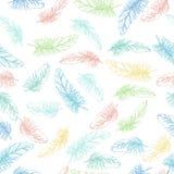 ζωηρόχρωμα φτερά Απεικόνιση αποθεμάτων