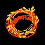 ζωηρόχρωμα φύλλα φθινοπώρ&omicr διάνυσμα isolated leaf maple Φύλλα φθινοπώρου Grunge Στοκ φωτογραφία με δικαίωμα ελεύθερης χρήσης