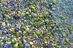 Ζωηρόχρωμα χαλίκια παραλιών Στοκ φωτογραφία με δικαίωμα ελεύθερης χρήσης