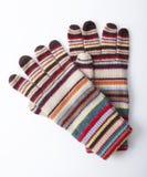 Ζωηρόχρωμα χειμερινά γάντια στοκ εικόνα με δικαίωμα ελεύθερης χρήσης