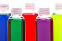 Ζωηρόχρωμα χημικά δείγματα στοκ εικόνα με δικαίωμα ελεύθερης χρήσης
