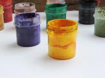 ζωηρόχρωμα χρώματα Στοκ Φωτογραφία