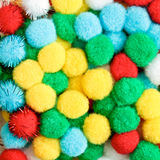 Ζωηρόχρωμα bonbons Στοκ εικόνα με δικαίωμα ελεύθερης χρήσης