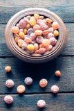 Ζωηρόχρωμα bonbons Στοκ φωτογραφίες με δικαίωμα ελεύθερης χρήσης