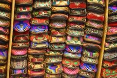 ζωηρόχρωμα chappals Στοκ εικόνα με δικαίωμα ελεύθερης χρήσης