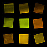 10 ζωηρόχρωμα eps ανασκόπησης τετράγωνα Στοκ εικόνα με δικαίωμα ελεύθερης χρήσης