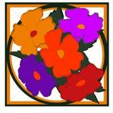 Λουλούδια figural Στοκ Εικόνα