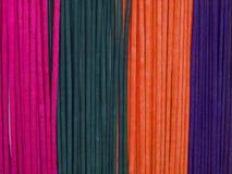 ζωηρόχρωμα incenses Στοκ φωτογραφία με δικαίωμα ελεύθερης χρήσης