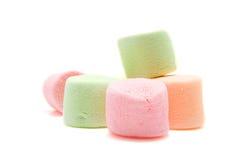 ζωηρόχρωμα marshmallows Στοκ Φωτογραφία