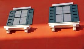 Ζωηρόχρωμα Windows Στοκ φωτογραφίες με δικαίωμα ελεύθερης χρήσης