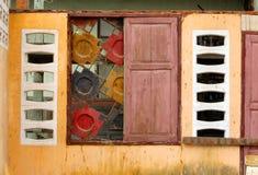 Ζωηρόχρωμα Windows Στοκ Εικόνα