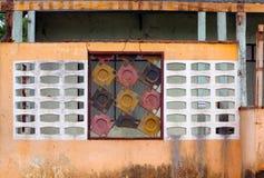 Ζωηρόχρωμα Windows Στοκ Φωτογραφία