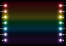 Ζωηρόχρωμες λάμπες φωτός Στοκ φωτογραφία με δικαίωμα ελεύθερης χρήσης