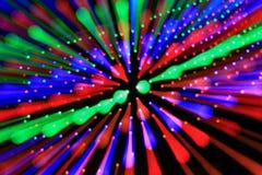 Ζωηρόχρωμες ακτίνες του φωτός. Στοκ φωτογραφία με δικαίωμα ελεύθερης χρήσης