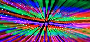 Ζωηρόχρωμες ακτίνες του φωτός. Στοκ Εικόνες