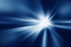 Ζωηρόχρωμες ακτίνες του φωτός Στοκ Εικόνα