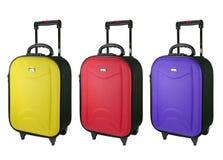 Ζωηρόχρωμες αποσκευές ταξιδιού Στοκ φωτογραφία με δικαίωμα ελεύθερης χρήσης